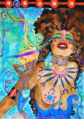 Afro Nouveau I