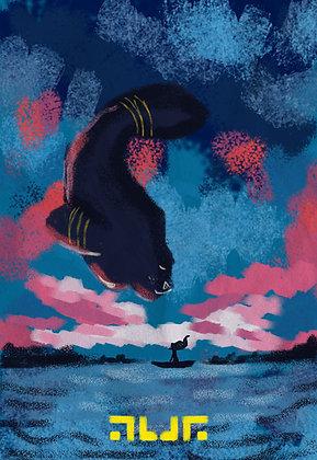 Peixe Mulher Deusa Indígena