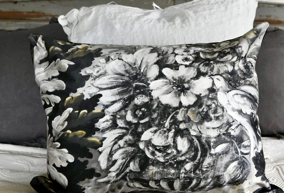 Wooded Persienne Pillow Cover