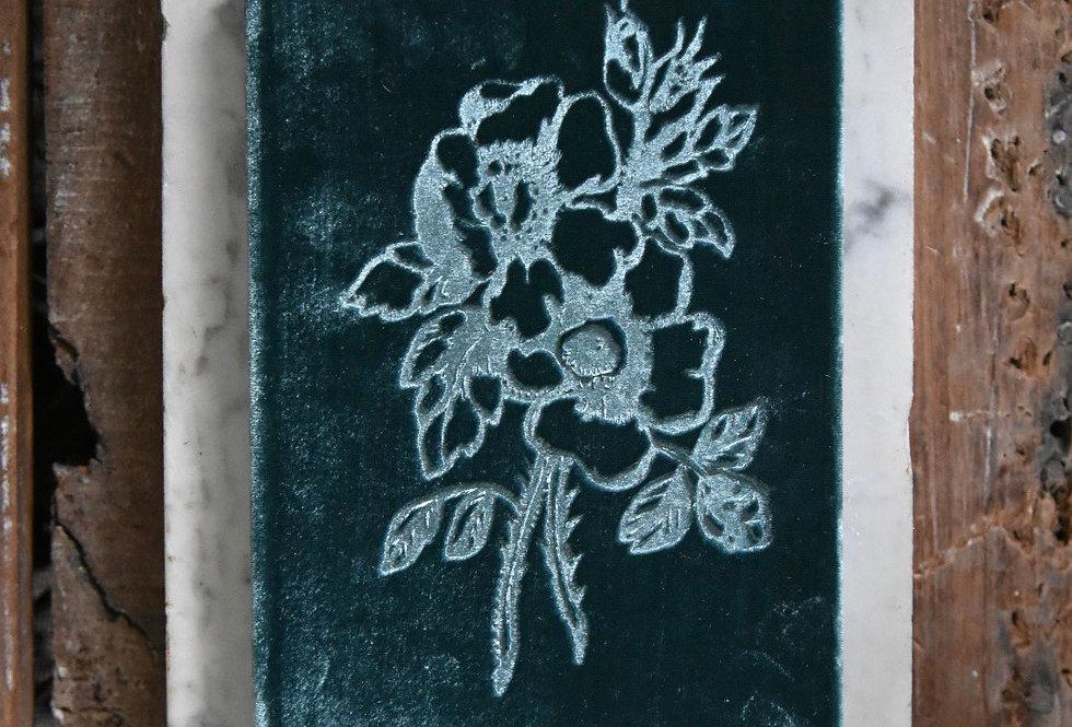 Velvet Book Edwardian Pine