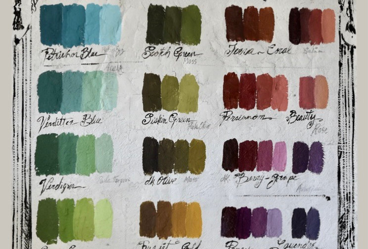 Palette Swatches Printed Backdrop