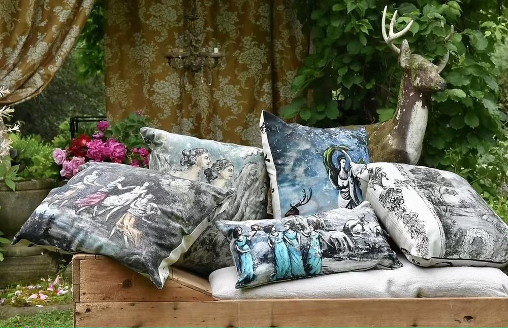 Jennifer Lanne canvas pillows