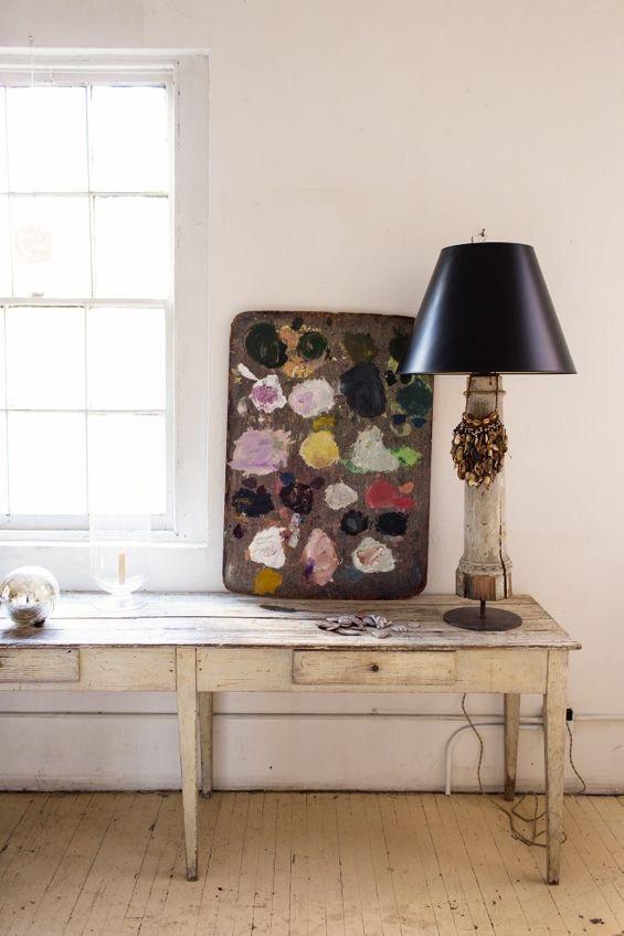 Painters palette John Derian home