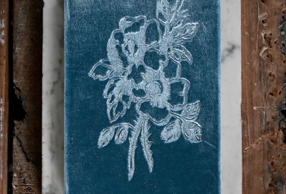 Velvet Book Louis Blue
