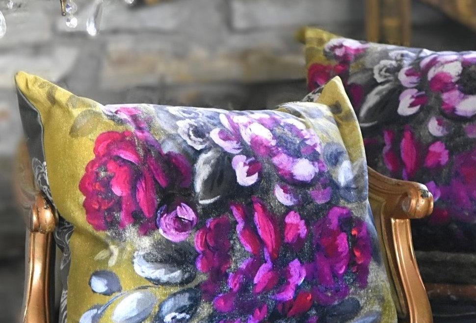 Darlington Rose Pillow Cover