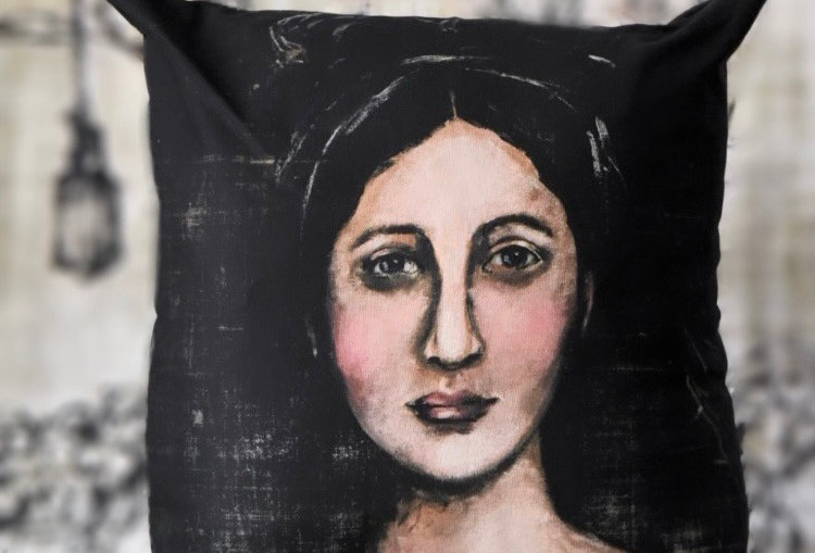 Helena Canvas Pillow Cover
