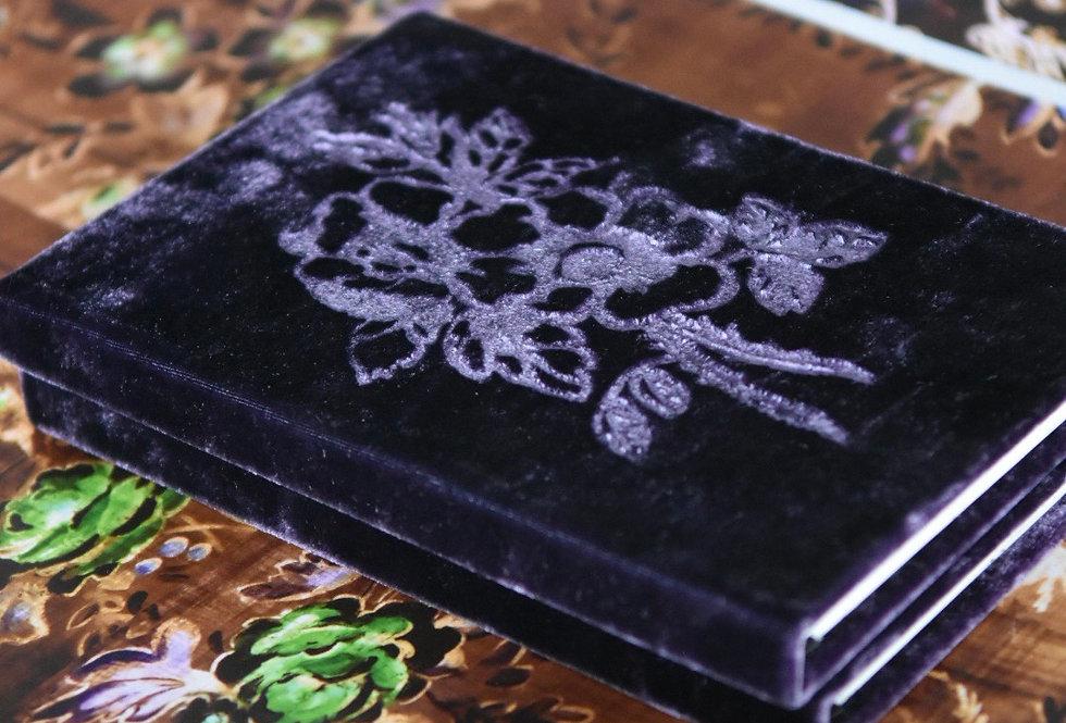 Aubergine Velvet Book