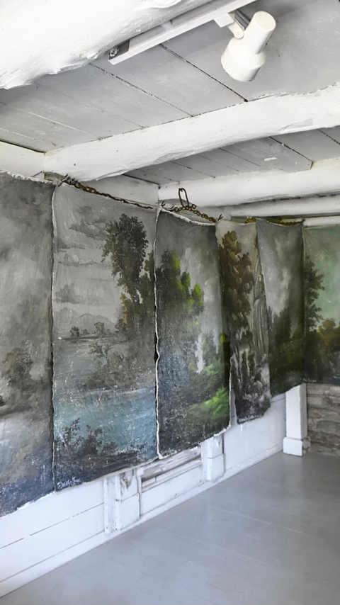 A Wall of Landscapes