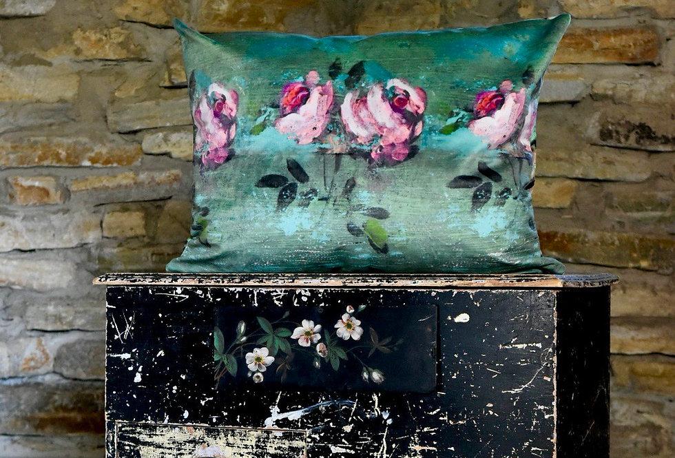 Lambeau Rose Pillow Cover