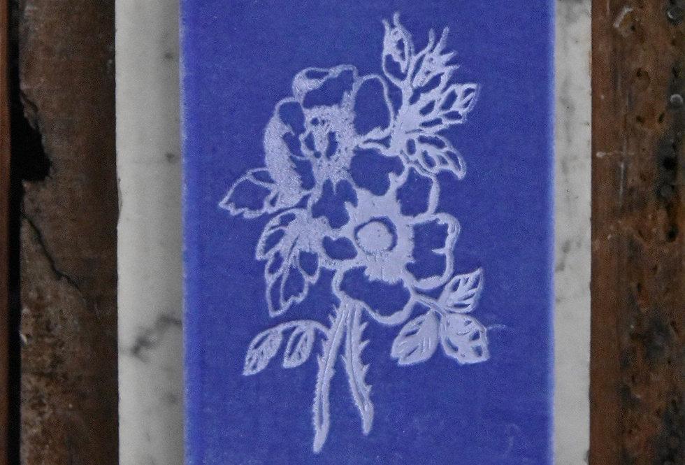 Kingsley Iris Velvet Book