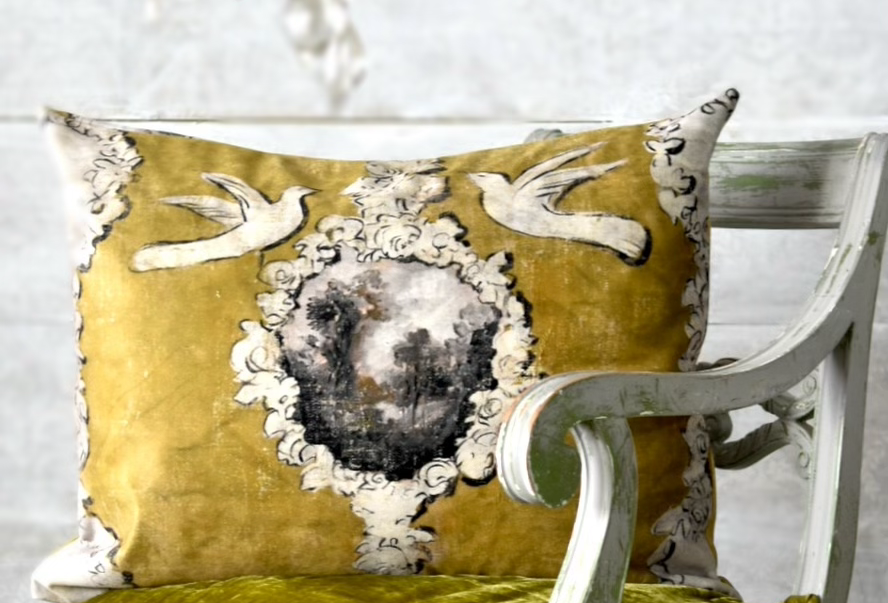 Champagne Pillow Cover