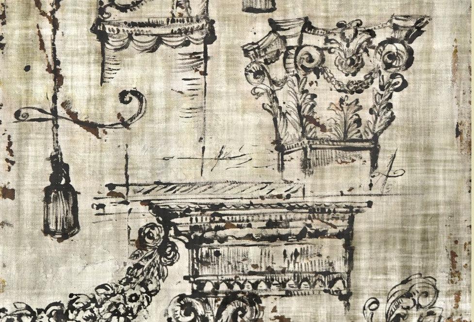 Archetype Printed Backdrop Parchment