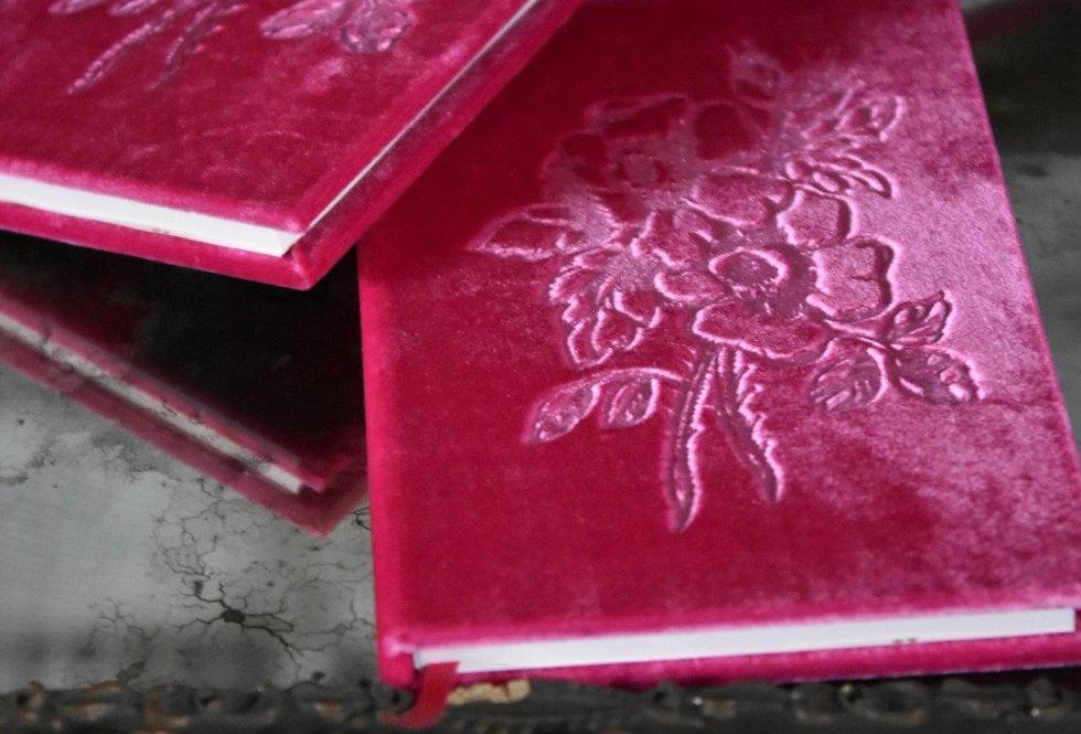 Desmond Pink Velvet Book