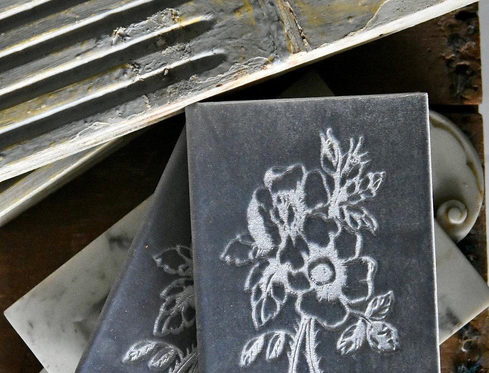 Julian Silver Velvet Book
