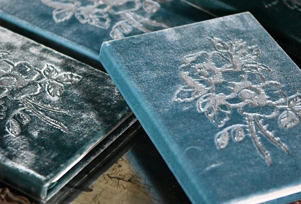 Louis Blue Velvet Book