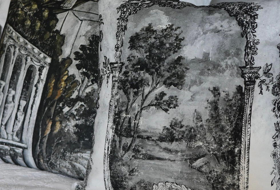 Novelette Canvas Pillow Cover