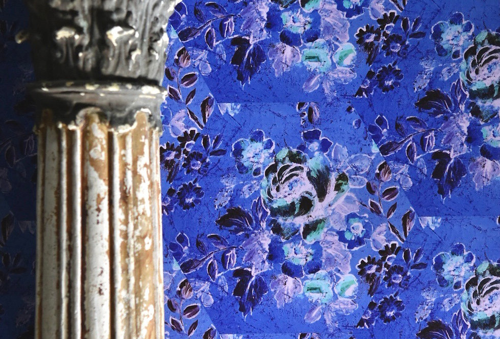 Blue Rose  Papers set/6