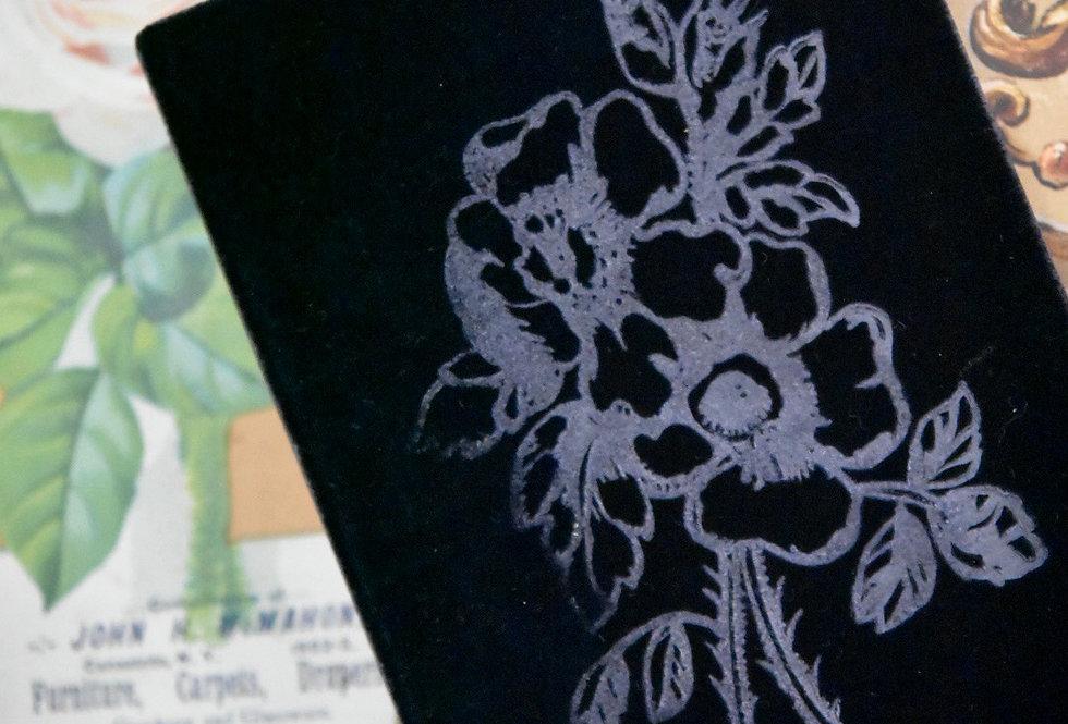 Harris Black Velvet Book