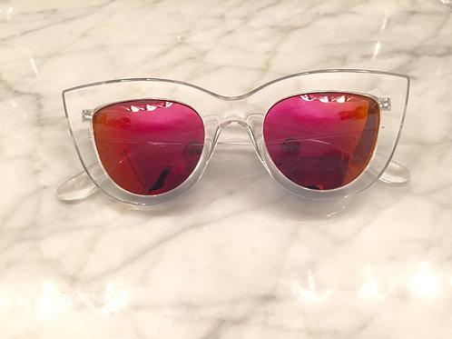 Quay Clear Mirror Kitti Sunglasses