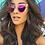 Thumbnail: Quay Clear Mirror Kitti Sunglasses