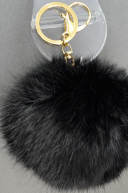 Panther Puff KeyChain