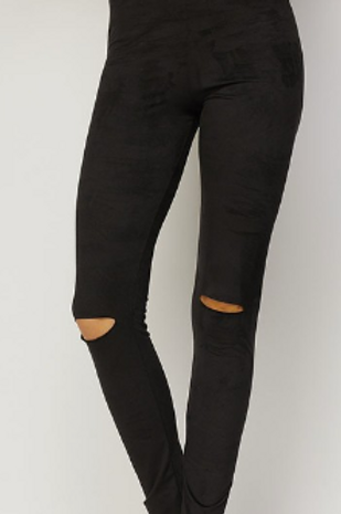 I Kneed You Suede Leggings