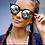 Thumbnail: Quay High Strung Tort Sunglasses