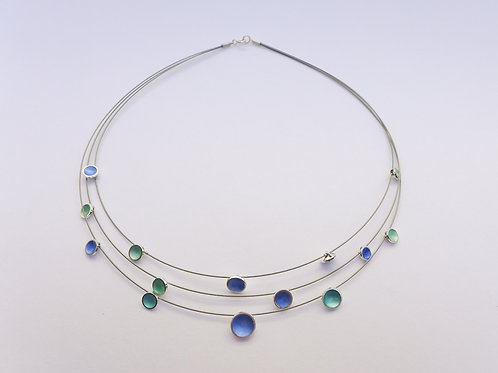 Dewdrop Multistrand Necklace