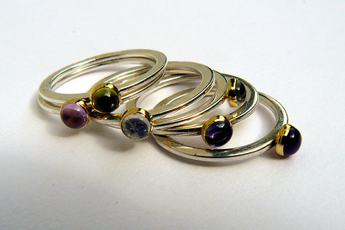 Little Gems Stacking Rings