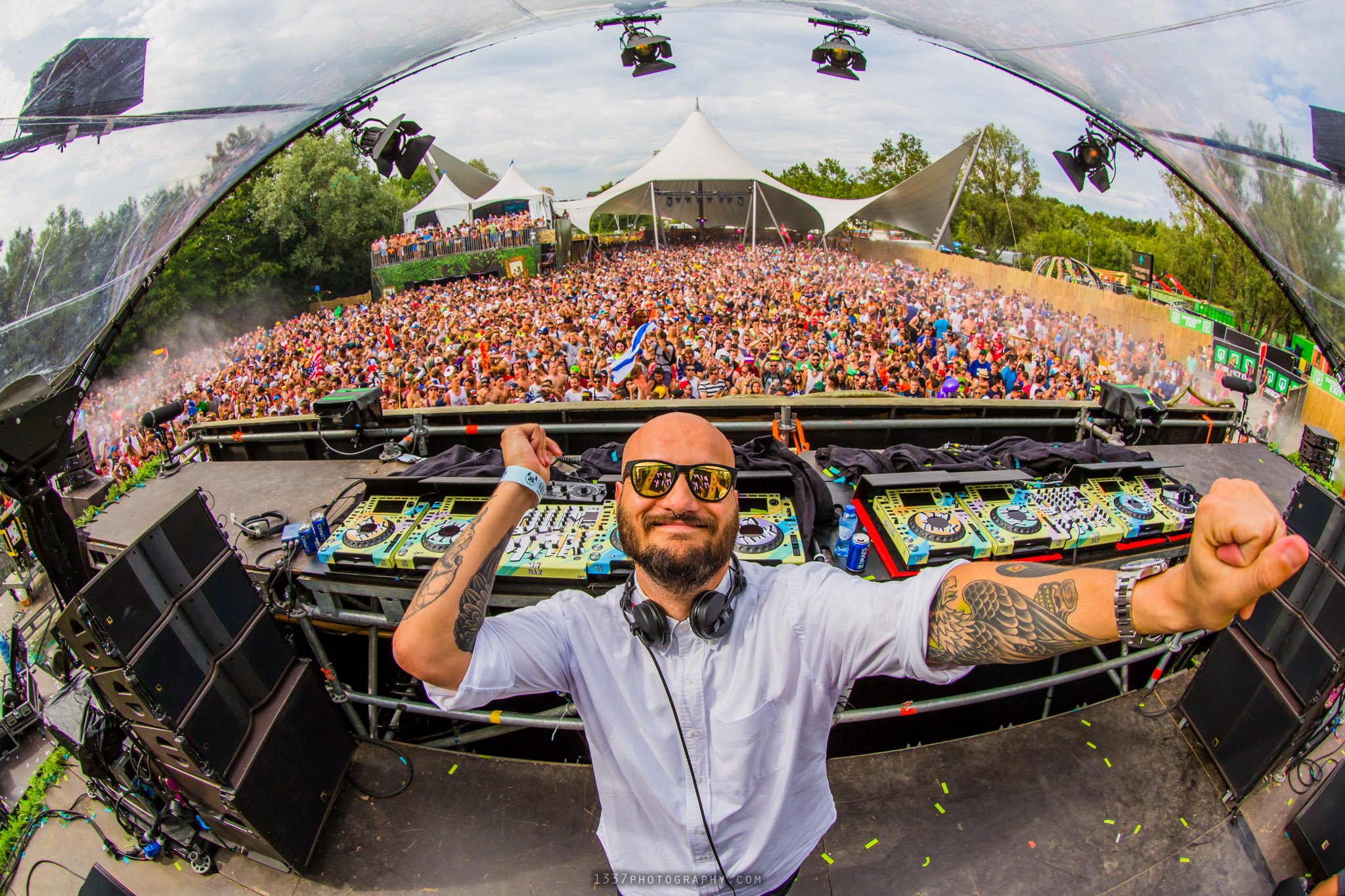 Crookers at Tomorrowland
