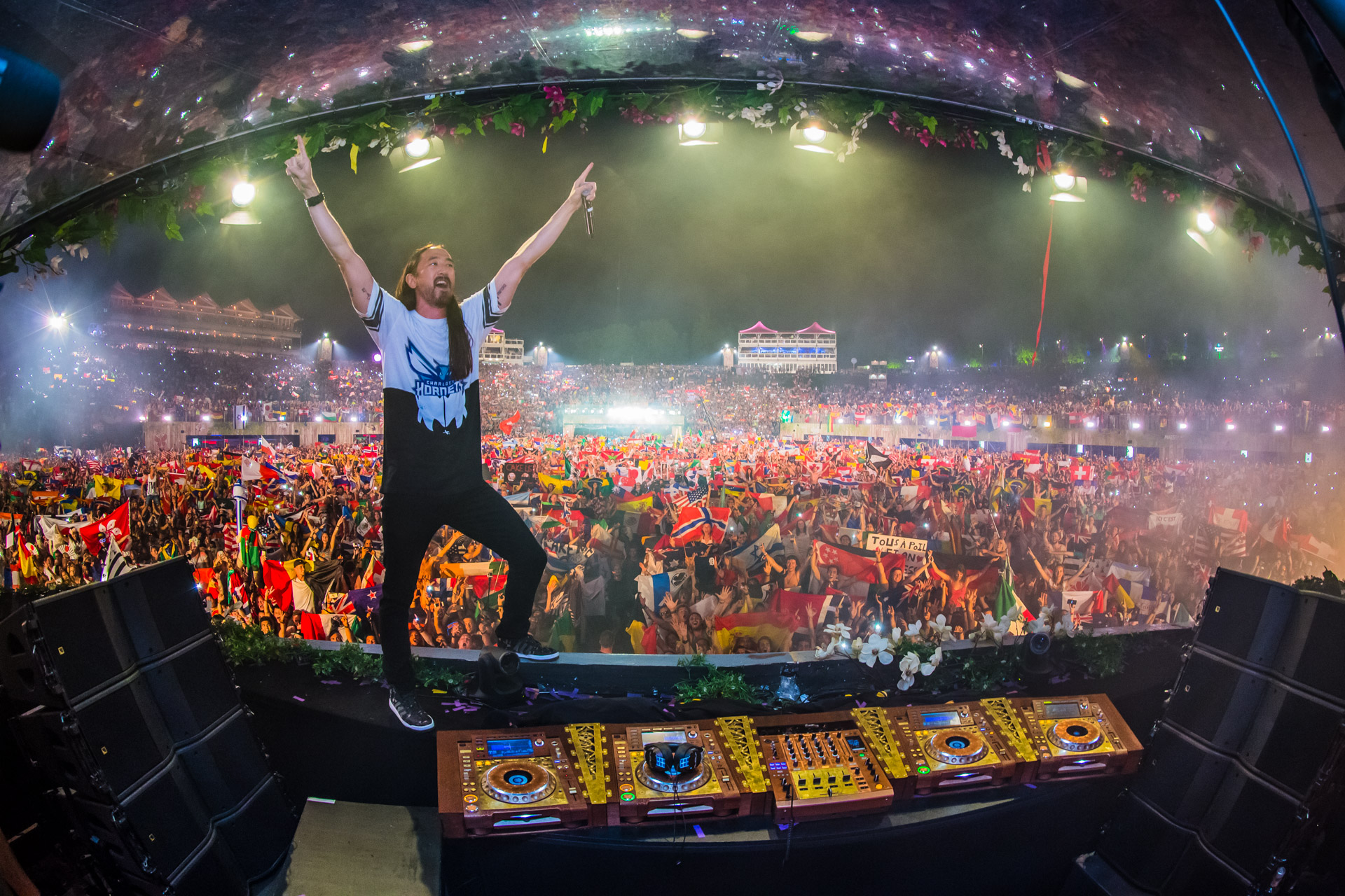Steve Aoki @ Tomorrowland