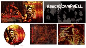 Bruce X Campbell CD Design