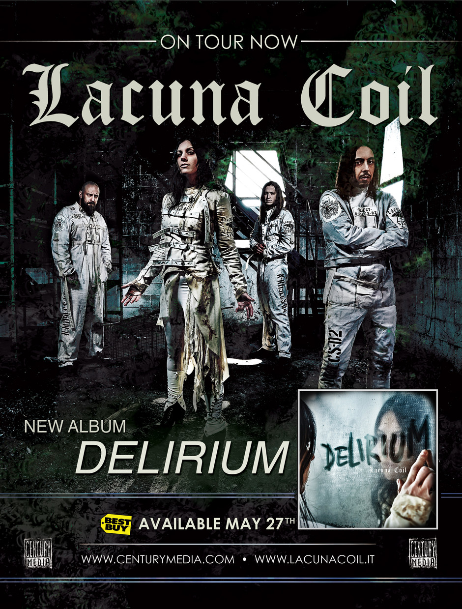 Lacuna Coil Full Page Ad