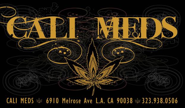 Cali Meds Business Card.