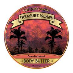 Cali Gold Genetic Body Butter Label