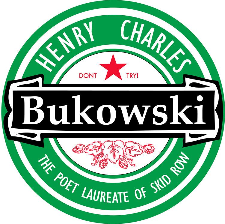 Charles Bukowski T-shirt design
