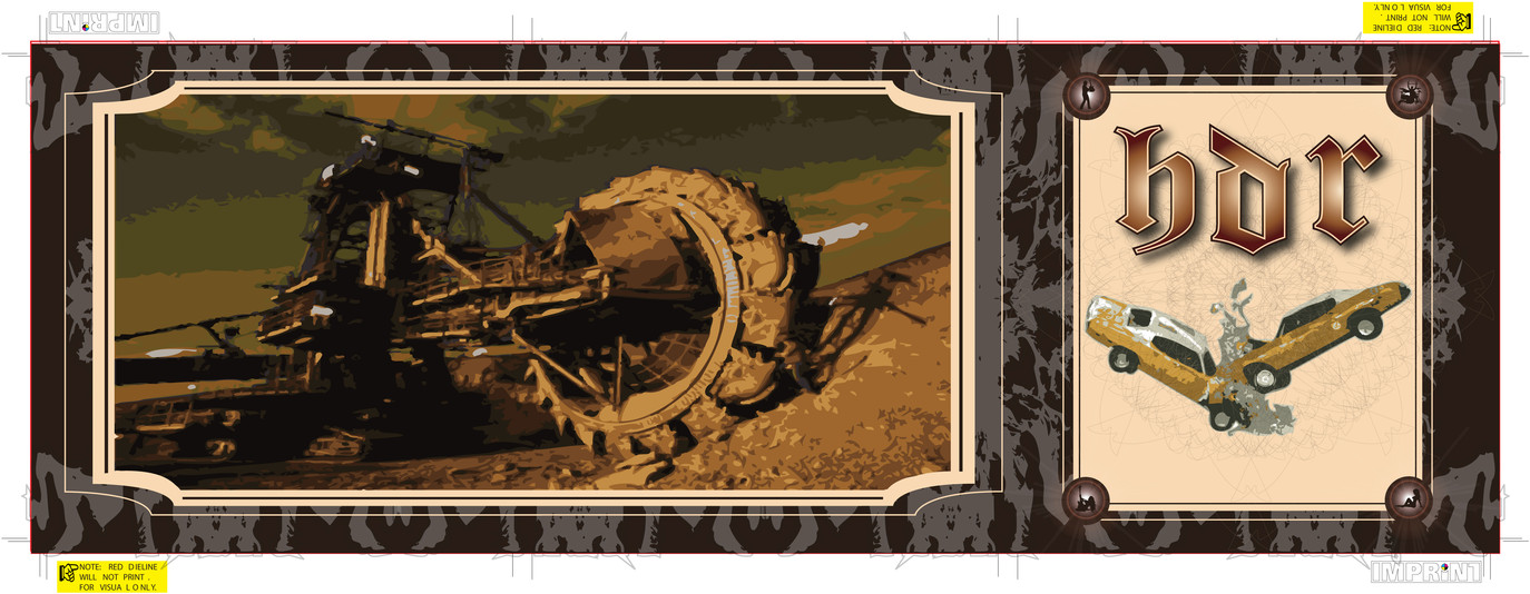 H.D.R. - CD Layout