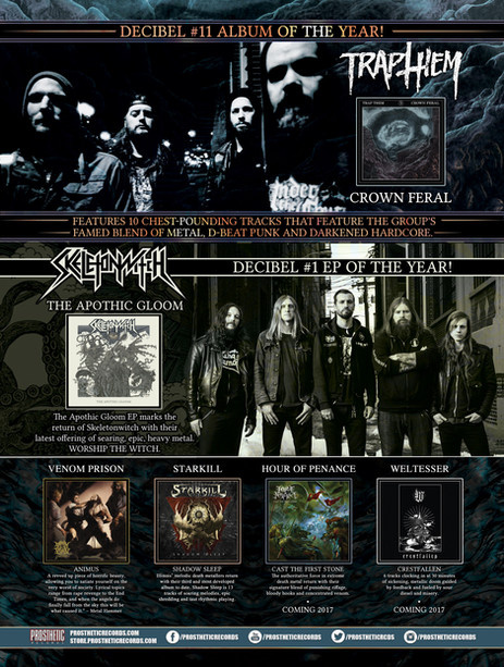 Full Page Ad / Prosthetic Records.