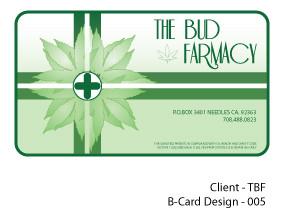 The Bud Farmacy Business Card