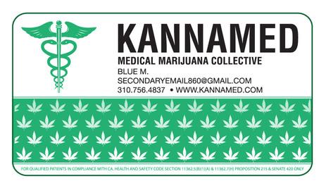 KANNAMED Business Card.