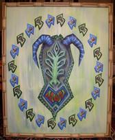 Tiki painting