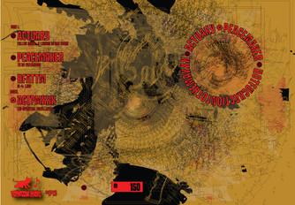 Actuary / Peacemaker / HFATTM 3 way split. Double CD Release