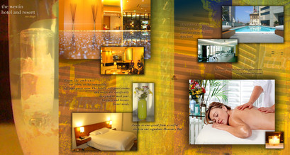 THE WESTIN Hotel Brochure - Inside Pages (2 and 3).