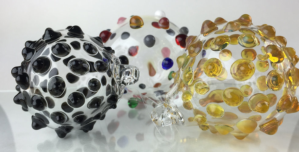 Raised Dots Ornament