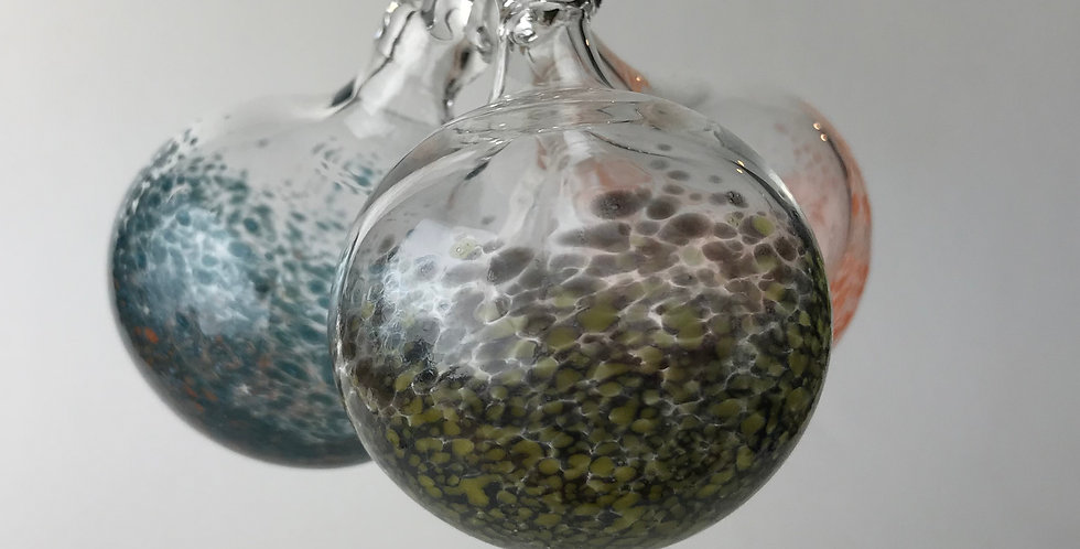 Color Speckles ornament