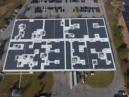 Solar powerproject in Thorofare, NJ
