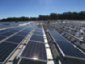 Solar panels in Wall Township, NJ