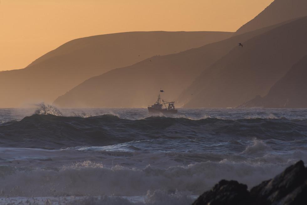 Fishermen at Sea