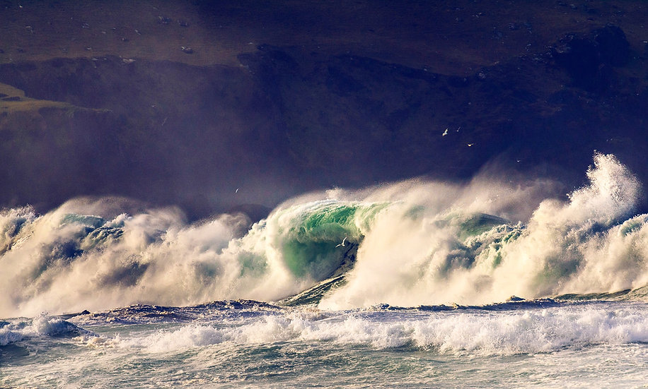 Clogher Storm  - Co.Kerry  - Print