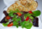 Bariadelli Green salad with oven bread4G